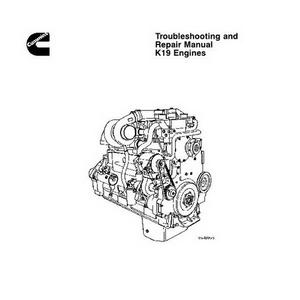 Cummins K19 Engines Troubleshooting and Repair Manual