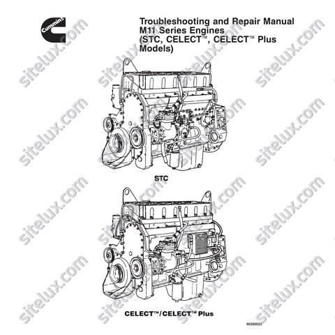 Cummins M11 Series Engines Troubleshooting and Repair