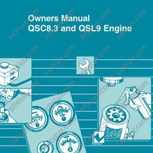 Cummins QSC8.3 and QSL9 Engine Owners Manual