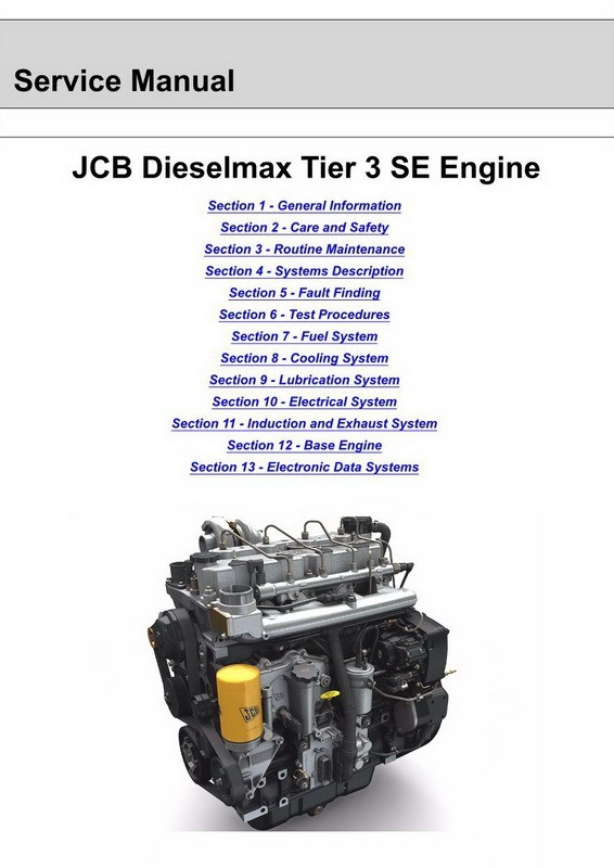 jcb engine service manual