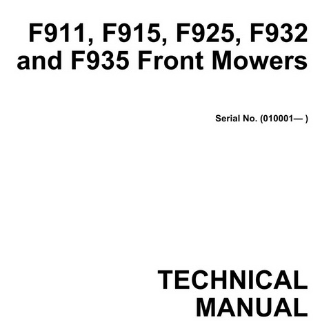 John Deere F911 F915 F925 F932 F935 Front Mowers. John Deere F911 F915 F925 F932 F935 Front Mowers Technical Manual. John Deere. F932 John Deere Lawn Mower Electrical Diagram At Scoala.co