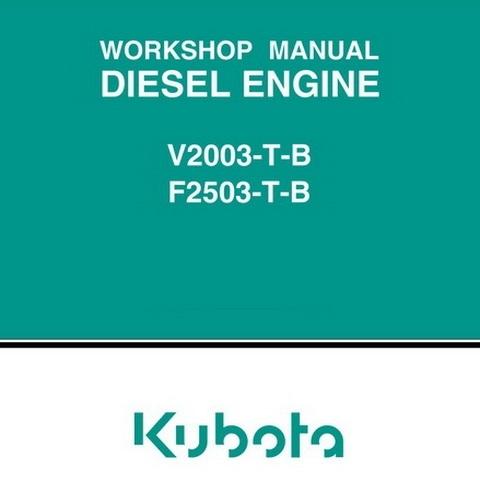 kubota v2003 t b f2503 t b diesel engine workshop ma rh sellfy com