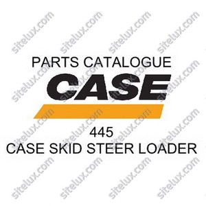 Case 445 Skid Steer Loader Parts Catalogue