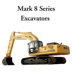 Kobelco Mark 8 Series Excavators Service Manual