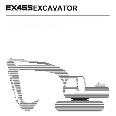 fiat kobelco ex455 tier2 excavator technical works