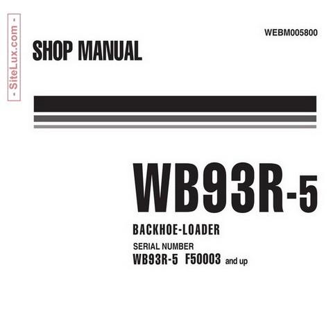 komatsu 125 3 series diesel engine service repair manual