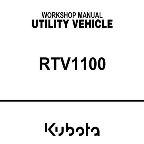manual on kubota 900 rtv