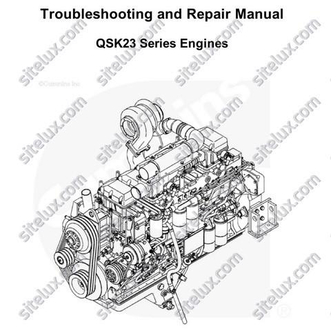 cummins engine rebuild manual