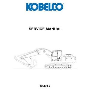 Kobelco SK170-9 Hydraulic Excavator Service Manual