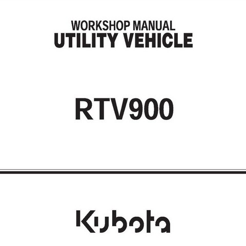 best kubota rtv 900 service manual image collection