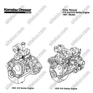 Komatsu 410 & 610 Series Engine Shop Manual