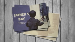 Fathers Day Post Card