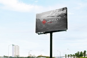 Mockup Advertising Outdoor