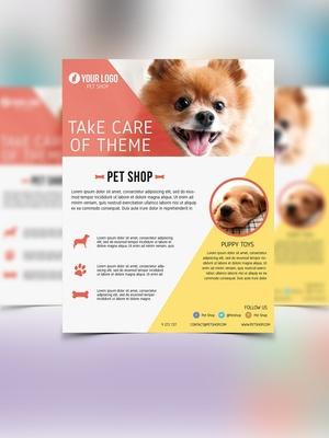 Flyer Pet Shop
