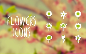 Icons Flowers