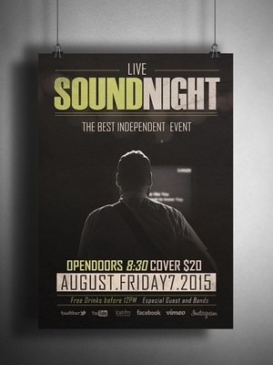 Flyer Sound Night