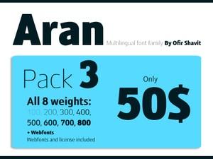 Aran - Pack 3