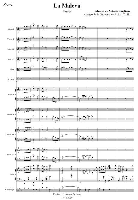 La Maleva - orquesta típica de Aníbal Troilo