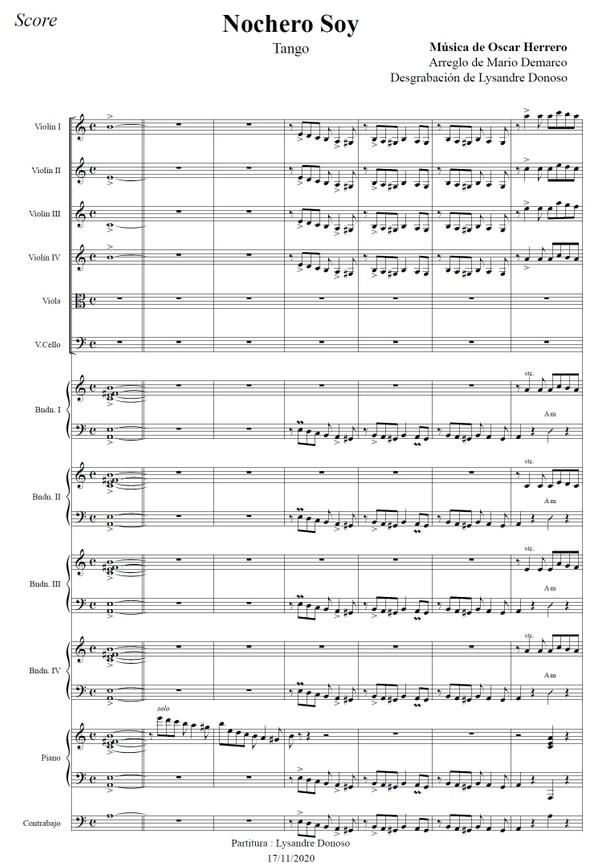 Nochero Soy - orquesta típica de Osvaldo Pugliese