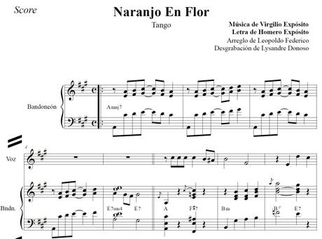 Naranjo En Flor (arr. Leopoldo Federico) - dúo bandoneón & voz