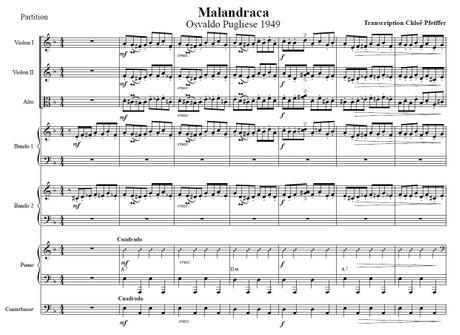 Malandraca - orquesta típica de Osvaldo Pugliese