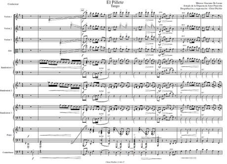 El Pillete - orquesta típica de Astor Piazzolla
