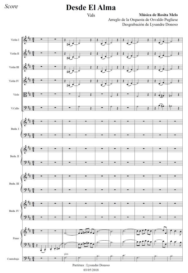 Desde El Alma - orquesta típica de Osvaldo Pugliese