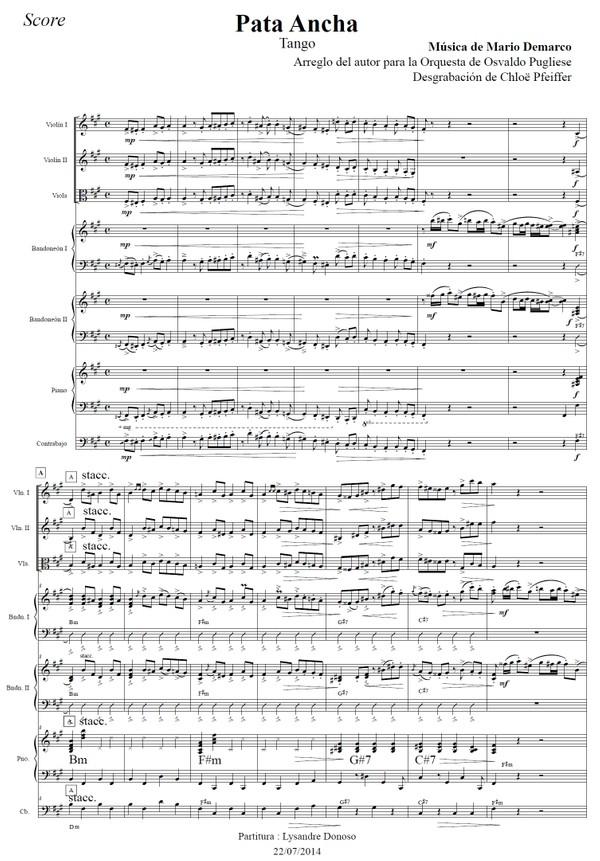 Pata Ancha - orquesta típica de Osvaldo Pugliese