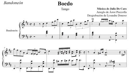 Boedo (arr. Leopoldo Federico) - bandoneón solo