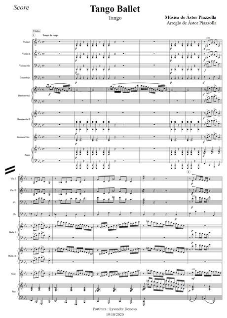 Tango Ballet - Octeto Buenos Aires de Astor Piazzolla