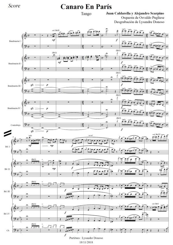 Canaro En París - orquesta típica de Osvaldo Pugliese