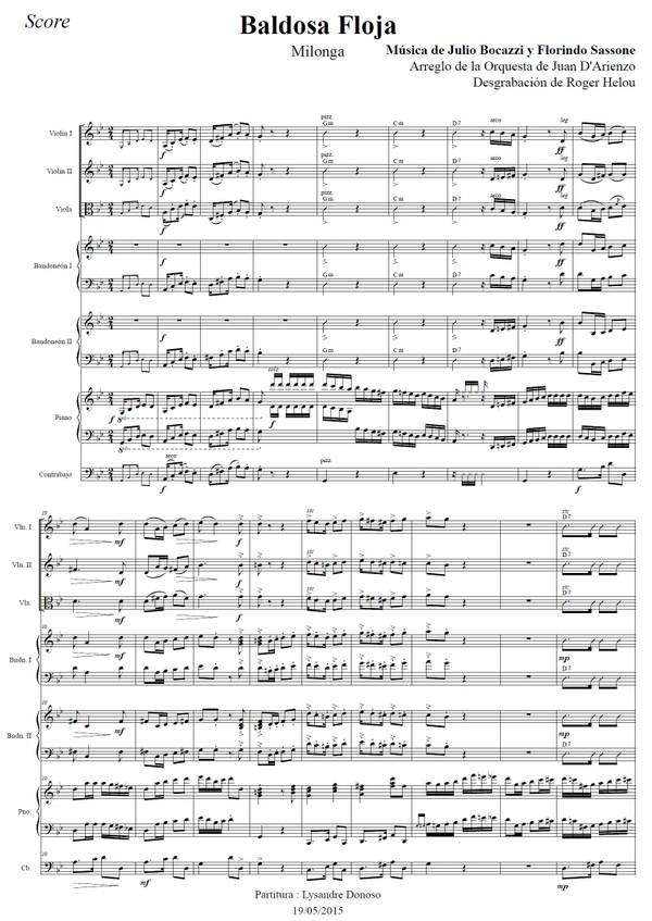 Baldosa Floja - orquesta típica de Juan D'Arienzo