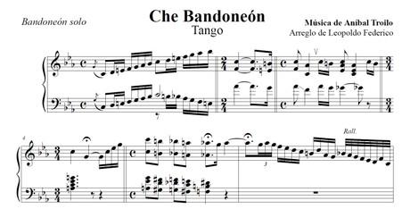 Che Bandoneón (arr. Leopoldo Federico) - bandoneón solo
