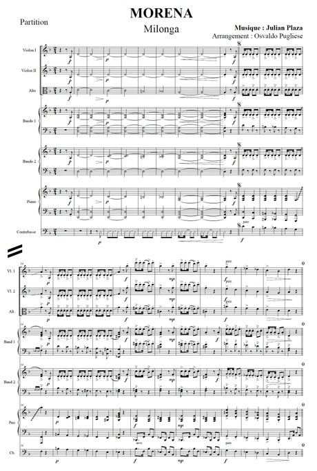 Morena - orquesta típica de Osvaldo Pugliese