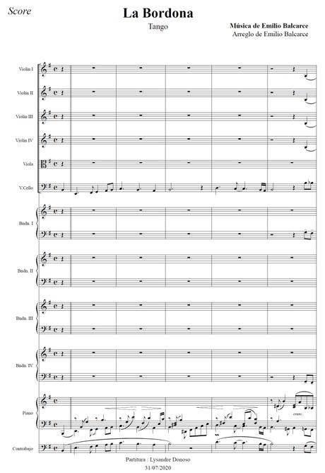 La Bordona (arr. Emilio Balcarce) - orquesta típica de Aníbal Troilo
