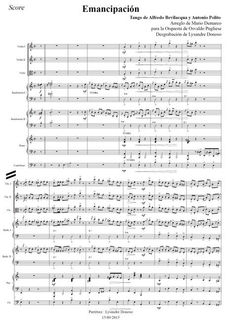Emancipación - orquesta típica de Osvaldo Pugliese