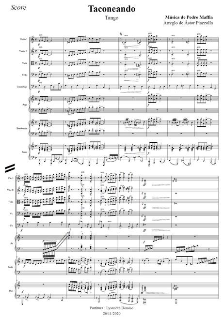 Taconeando - Orquesta de cuerdas de Astor Piazzolla