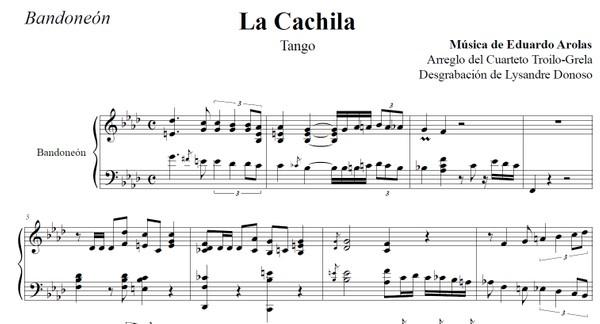 La Cachila (arr. Troilo-Grela) - bandoneón & guitarras