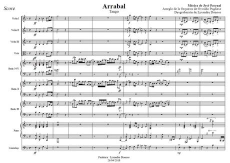 Arrabal - orquesta típica de Osvaldo Pugliese
