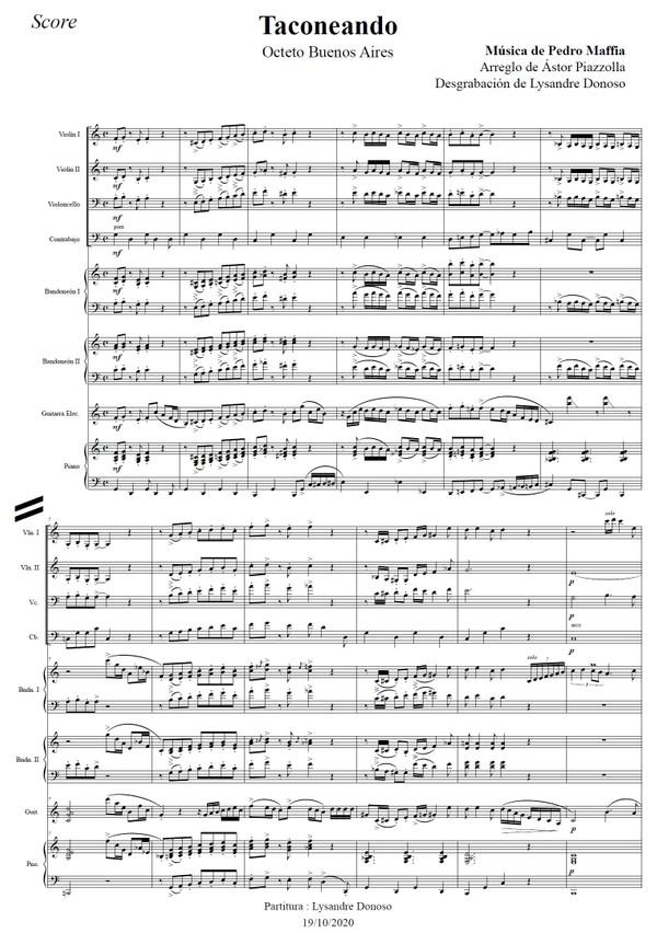 Taconeando - Octeto Buenos Aires de Astor Piazzolla