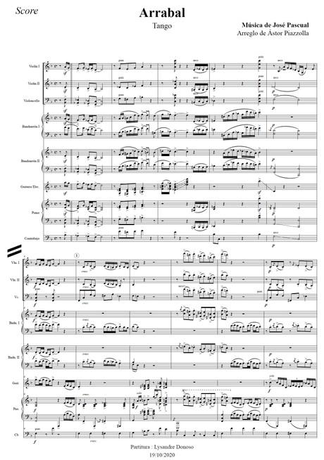 Arrabal - Octeto Buenos Aires de Astor Piazzolla