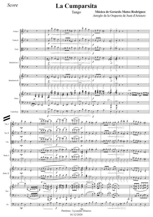 La Cumparsita - orquesta típica de Juan D'Arienzo