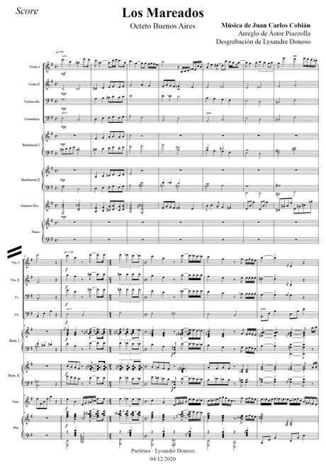 Los Mareados - Octeto Buenos Aires de Astor Piazzolla