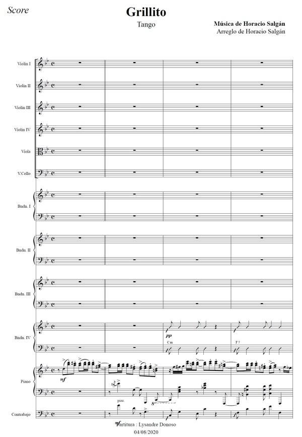 Grillito - orquesta típica de Horacio Salgán