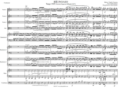 Ríe Payaso - orquesta típica de Juan D'Arienzo