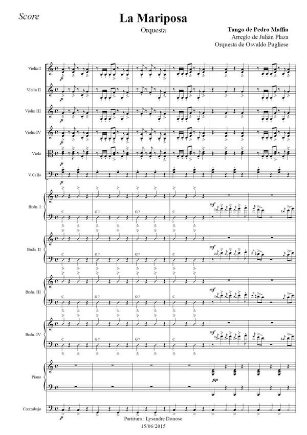 La Mariposa - orquesta típica de Osvaldo Pugliese