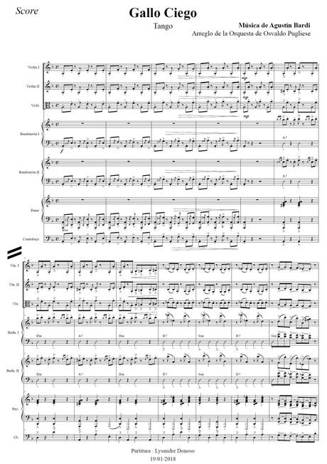 Gallo Ciego - orquesta típica de Osvaldo Pugliese