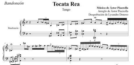 Tocata Rea (arr. Astor Piazzolla) - bandoneón solo