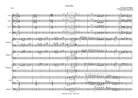 Para Dos - orquesta típica de Osvaldo Pugliese