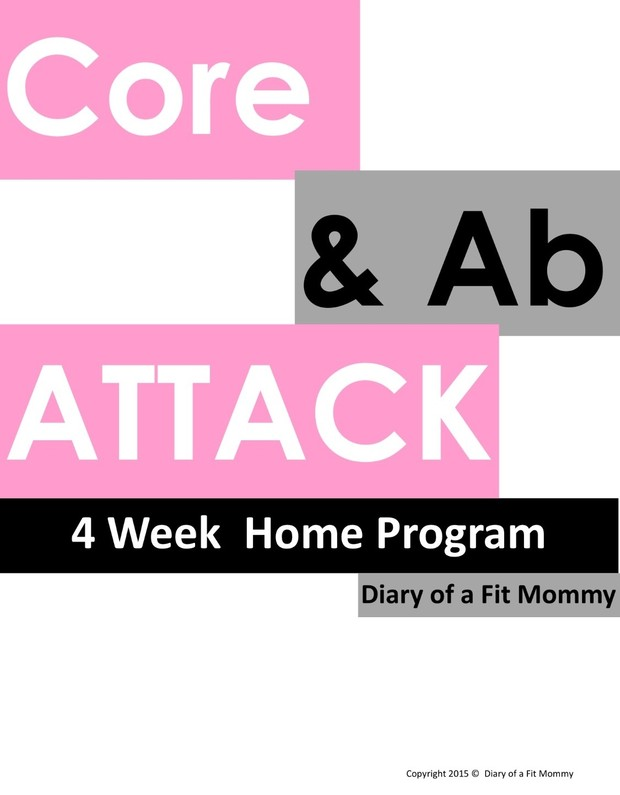 Core & Ab Attack 4 Week Home Workout Program